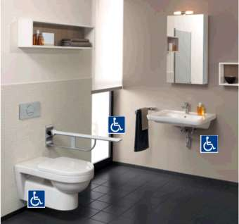 Baño Accesible por areas