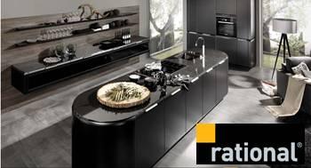 Cocinas Rational. Sitio WEB en Alemán e Ingles