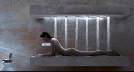 Y llegó la ducha horizontal