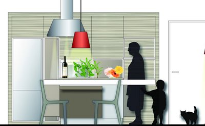 Diseño de Cocinas para Personas Mayores diferente a Minusvalidos en sillas de ruedas.