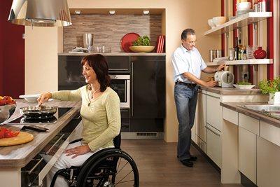 Motorizacion en la cocina, la solucion para minusvalidos