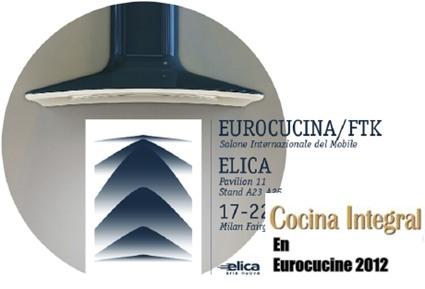 Eurocucine 2012: Las cocinas que vendrán