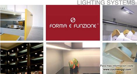 Iluminación LED para la cocina del 2012