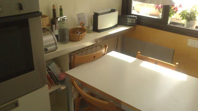 Una sobria cocina Rossana, Parte II
