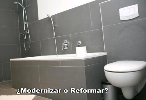 ¿Modernizamos el baño?