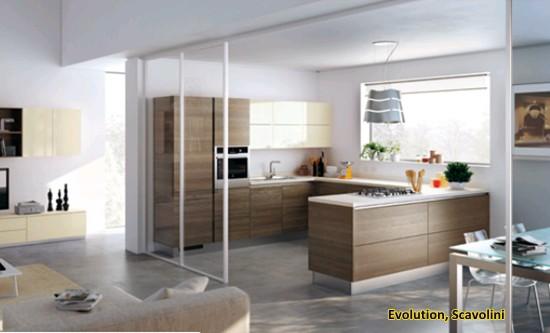 Evolution scavolini rehabitat interiores for Cocinas nuevas tendencias