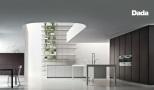 Dada Molteni, Salon con cocina, Cocina de salon. Nuevos conceptos fluyen en espacios abiertos, funcionales, bellos