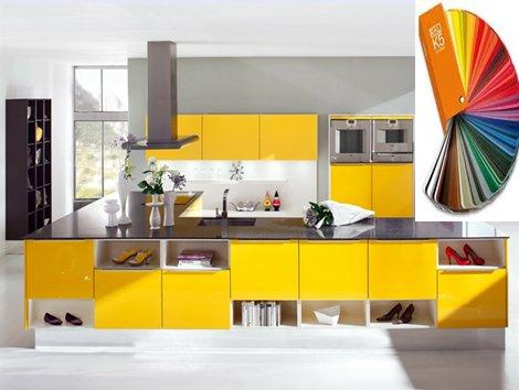 Colores RAL en el diseño interior.