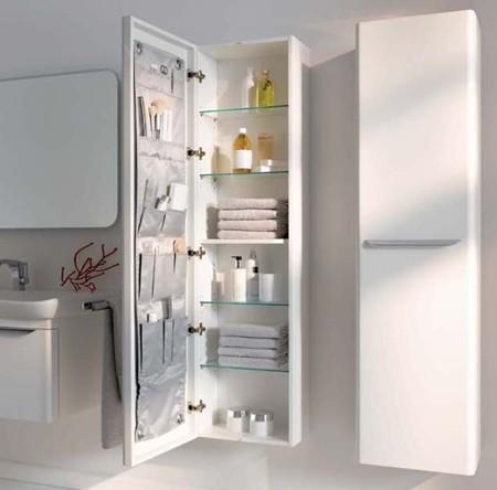 Columna2 keramag rehabitat interiores for Badezimmerschrank spiegel